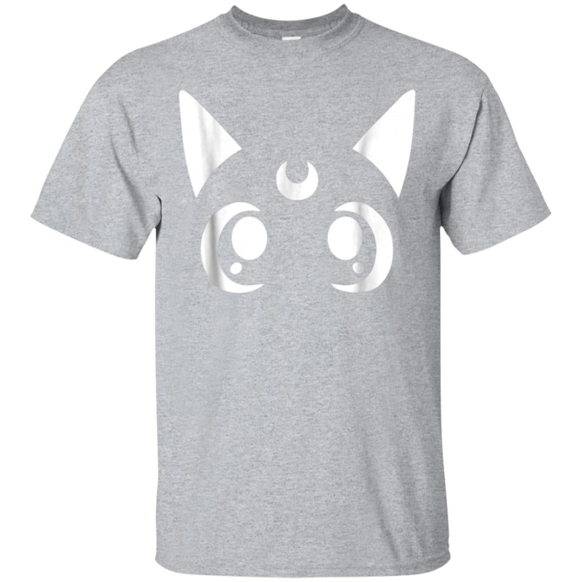 Artemis Magical Sailor Cat Crescent Moon Anime Nerdy T-Shirt 99promocode
