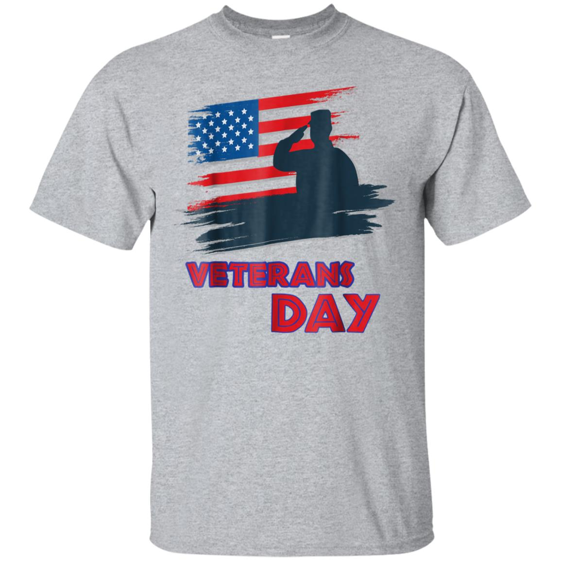 USA Veterans day T-shirt 11 November World War I Military 99promocode