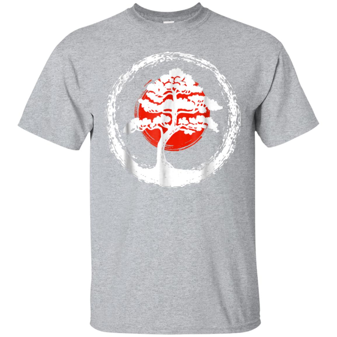Bonsai Tree Japanese Calligraphy Rising Sun Shirt 99promocode