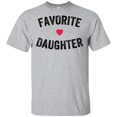e93bb1e04 Awesome favorite daughter t shirt - 99promocode