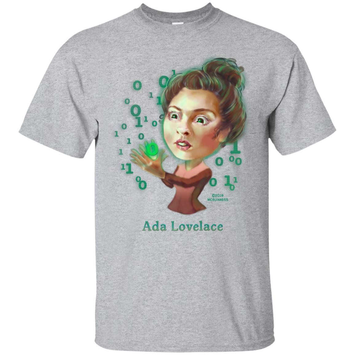 Ada Lovelace caricature 99promocode