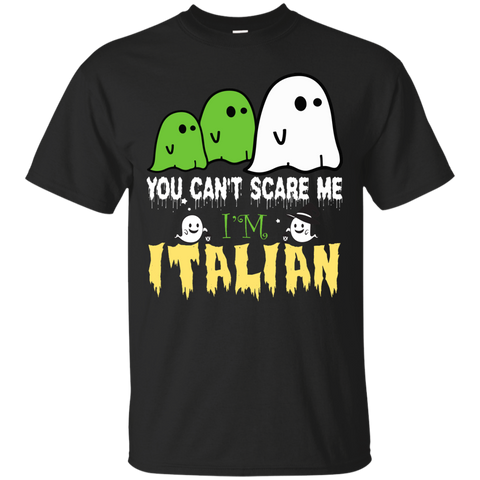 halloween you can't scare me i'm Italian shirt