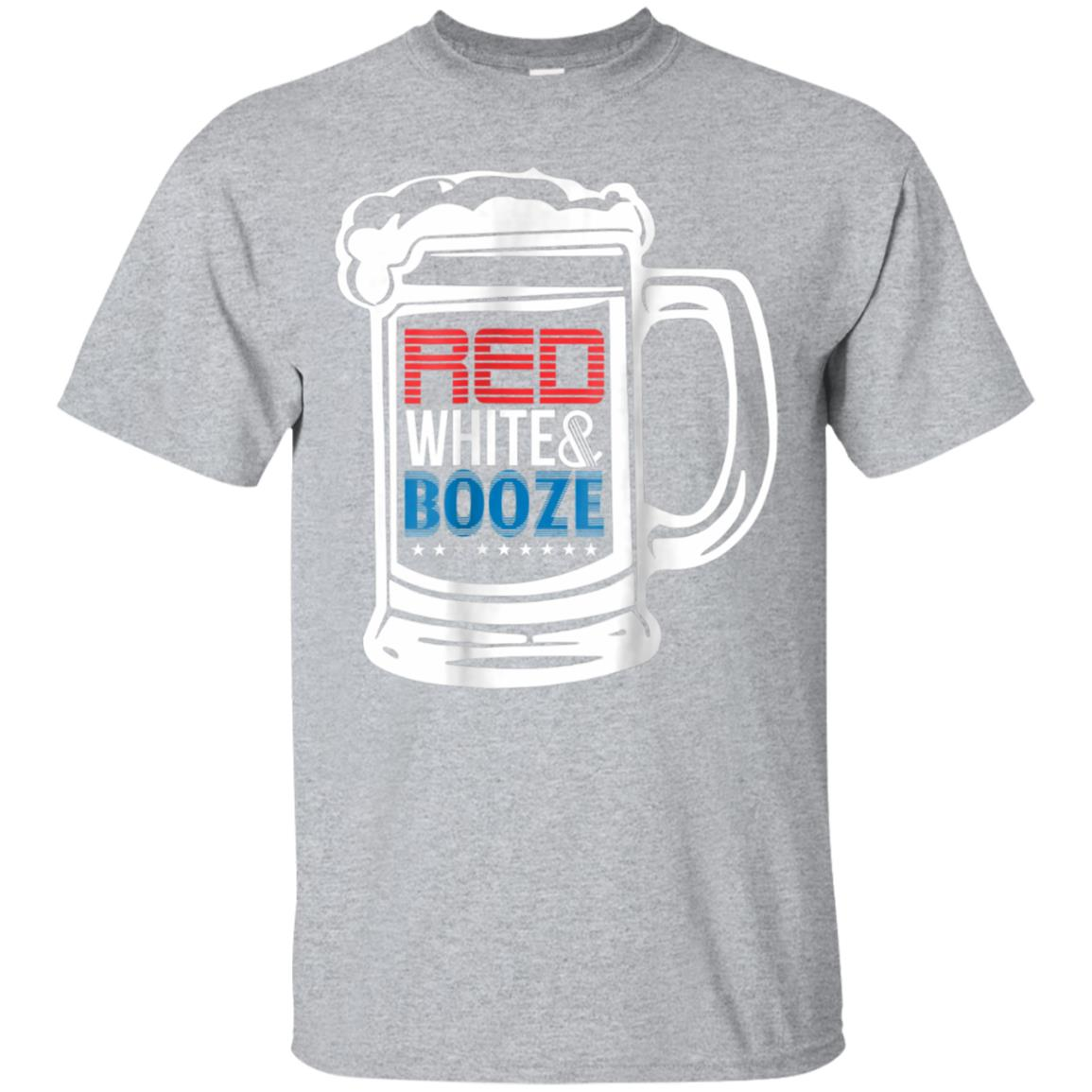 82ec3a90 Awesome 4th of july t shirt patriotic red, white, & booze gift tee -  99promocode