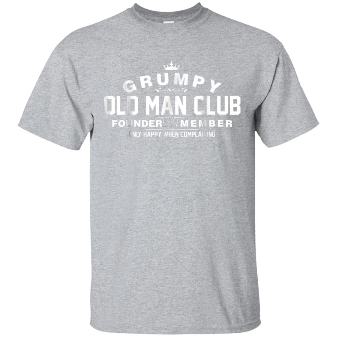 Grumpy Old Man Club T-Shirt TShirt 99promocode