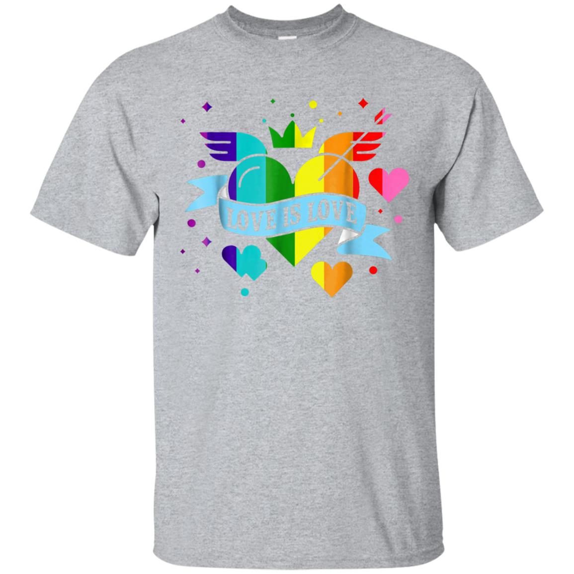 love is love tshirt - gay pride 99promocode