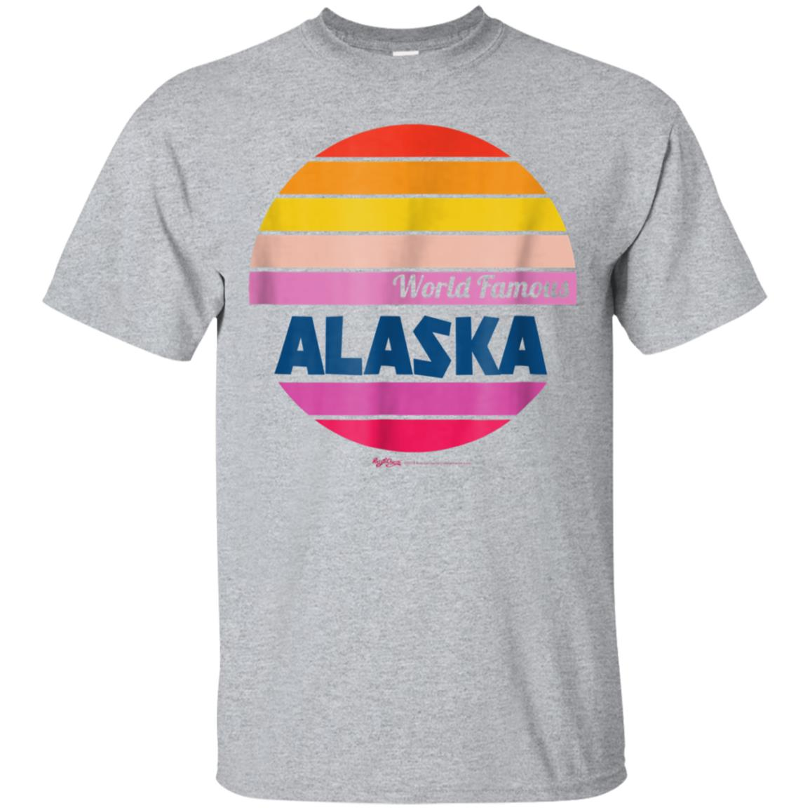 World Famous Alaska Flag T Shirt for Women, Men and Kids 99promocode
