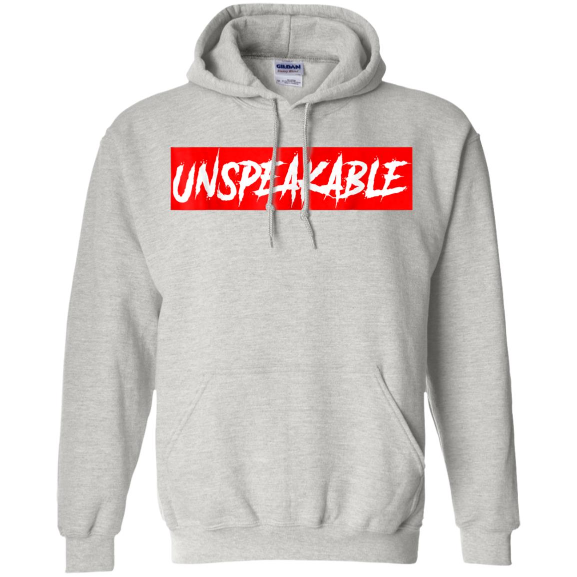 Unspeakable Shirt For Kids With Red Box Hoodie