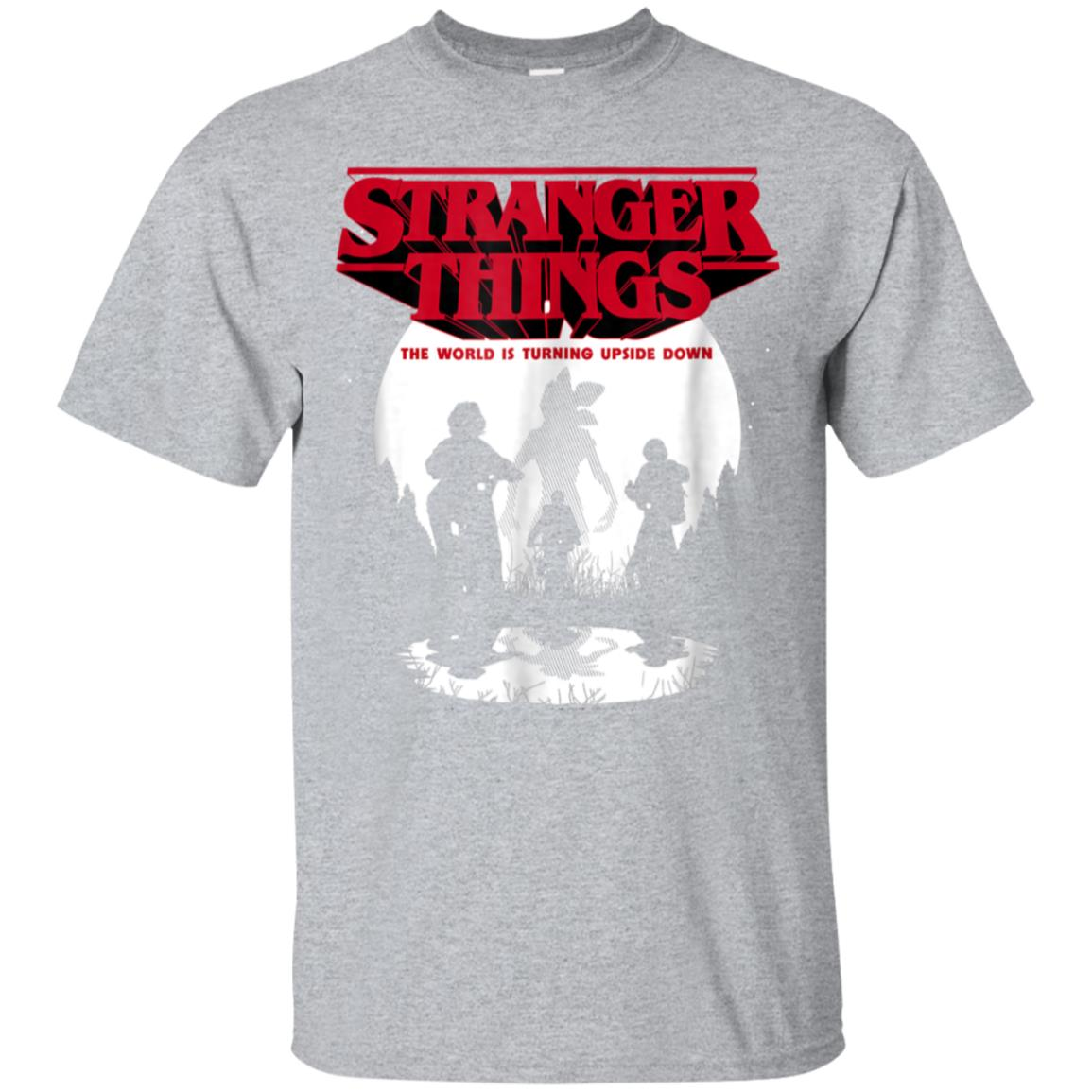 Netflix Stranger Things Upside Down T-shirt 99promocode