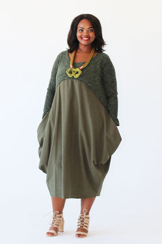 Thuly Dress - Green
