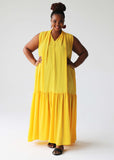 Capri dress - sunflower yellow