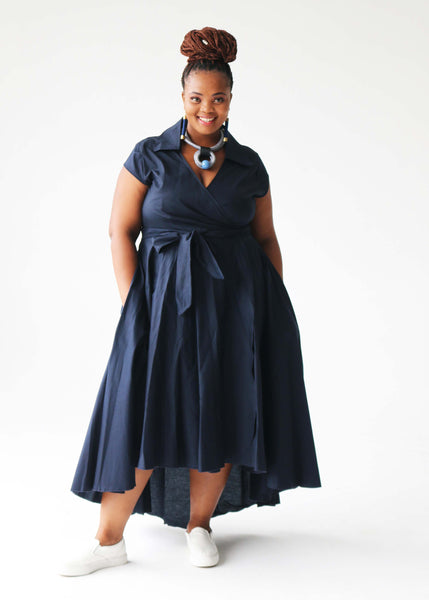 Summer Betty Dress - Navy