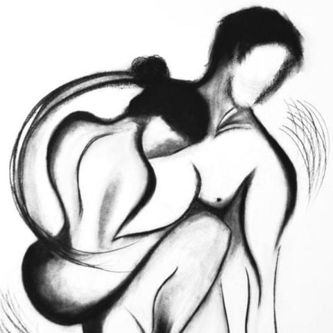 Expressive-charcoal-figure-art-by-kokil-sharma