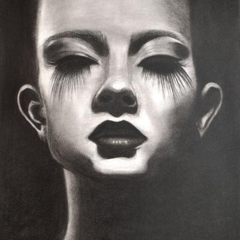 Expressive-charcoal-portrait-art-by-kokil-sharma