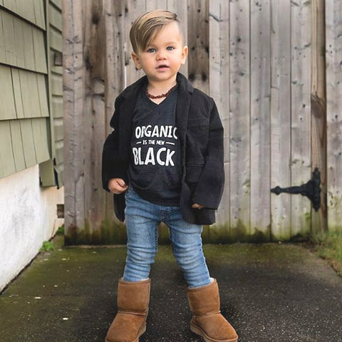 Organic Is The New Black Tee - Wild World Clothing - 2