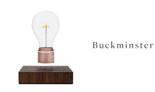 FLYTE levitating light bulb Buckminster model
