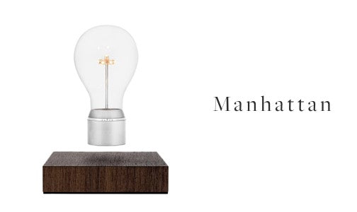 FLYTE levitating light bulb Manhattan model