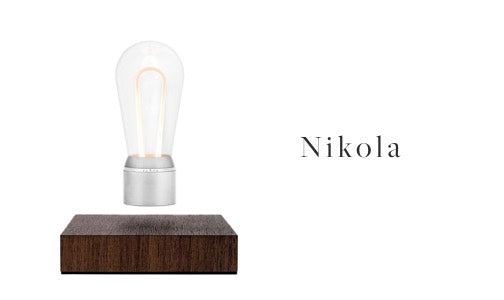 FLYTE levitating light bulb Nikola model