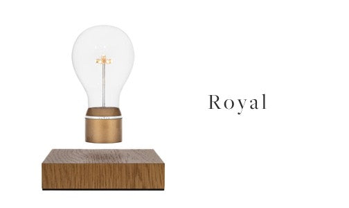 FLYTE levitating light bulb Royal model