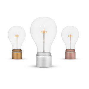 Changeable levitating light bulbs for FLYTE base, full Edison collection