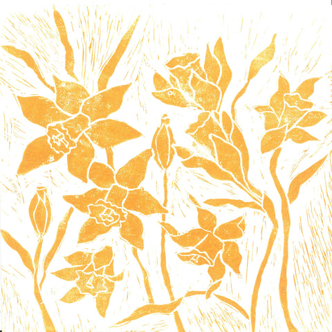 Spring Daffodils - Charity Card