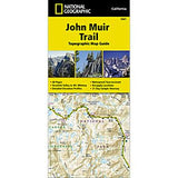 John Muir Trail - National Geographic Map