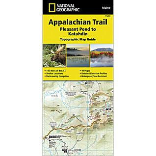Appalachian Trail - National Geographic Map