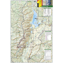 Grand Teton National Park, WY - National Geographic Map