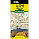 Guadalupe Mountains National Park, TX - National Geographic Map