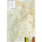 Bryce Canyon National Park, UT - National Geographic Map