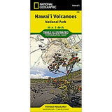 Hawaii Volcanoes National Park - National Geographic Map