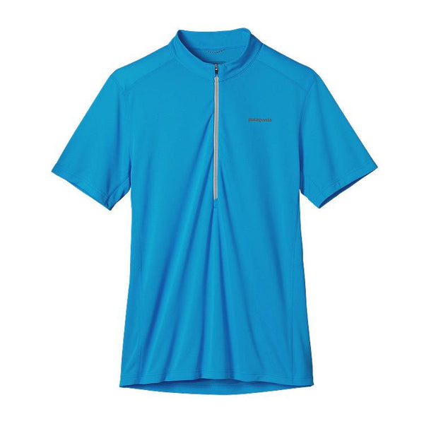 M's S/S Fore Runner Zip Neck