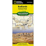 Badlands National Park - National Geographic Map