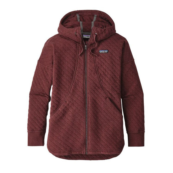 W's Cotton Quilt Hoody