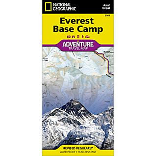 Everest Base Camp - National Geographic Map