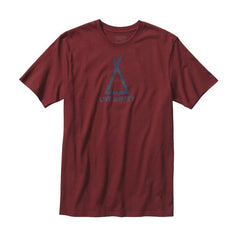 M's Live Simply Tent Life Cotton T-Shirt