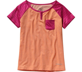 Girls CapileneТЎ 1 Silkweight T-Shirt