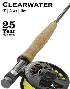 Clearwater 4-weight 9' Fly Rod