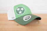 Cumberland Transit Logo and Tri-Star Trucker Hat