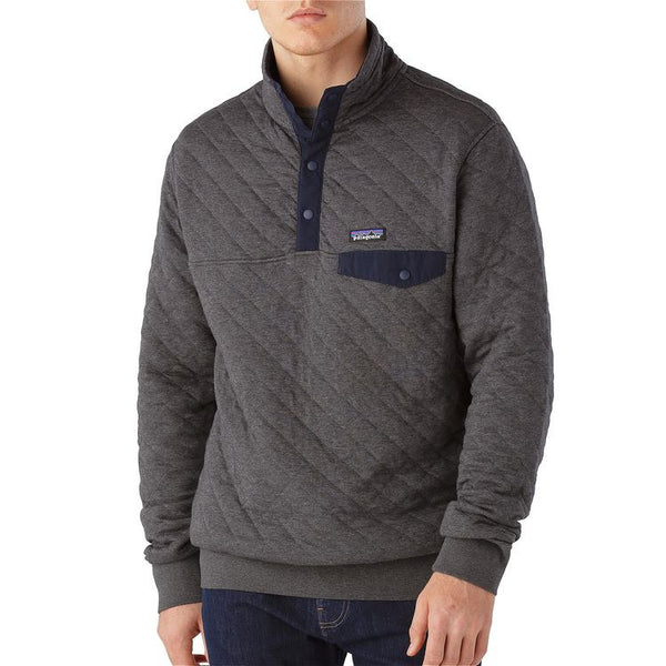 Men's Cotton Quilt Snap-T Pullover