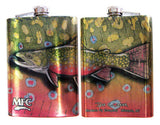 Drink Like A Fish Stainless Steel Hip Flask