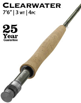 "Clearwater 3-weight 7'6"" Fly Rod"