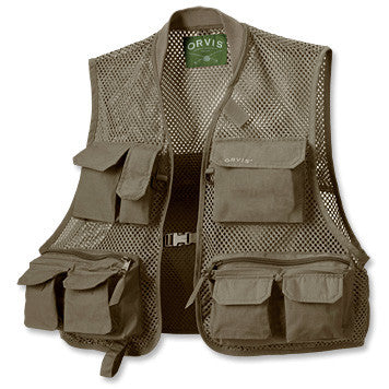 Clearwater Mesh Vest - Olive
