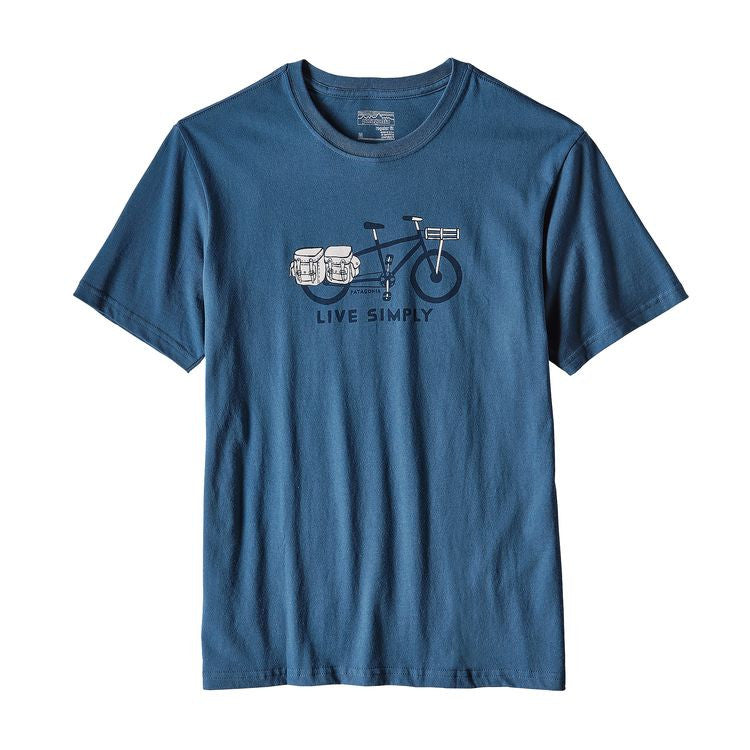 M's Live Simply Cargo Bike Cotton T-Shirt