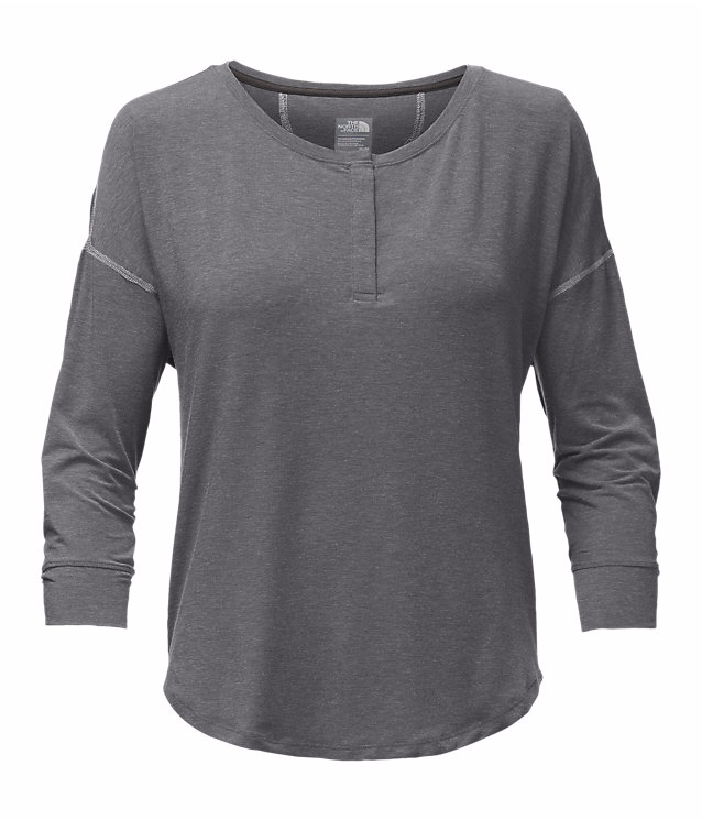 W's L/S In A Flash Henley Top