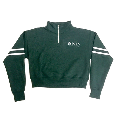 Ivey Female Cropped 1/4 Zip