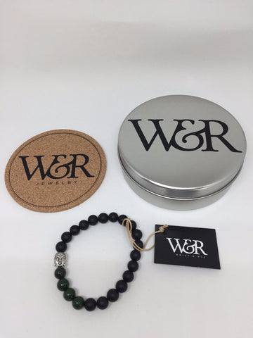 "Wrist & Rye ""The Evergreen' Bracelet"
