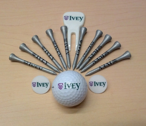 Ivey Golf Ball and Accessories Kit