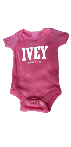 Ivey Baby Onesie - Solid Colour
