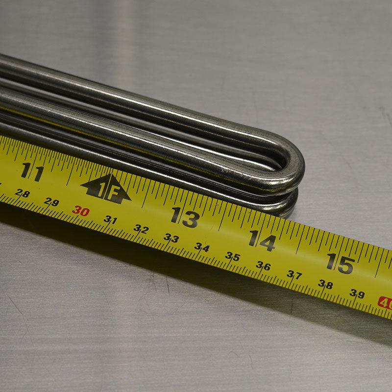 304 Stainless Steel Element - 4500w Straight