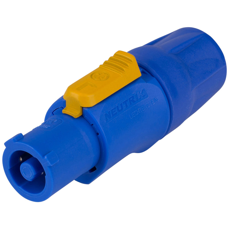 Neutrik NAC3FCA powerCON Cable Connector Power In Blue